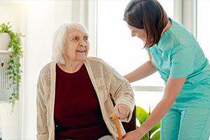 senior with Senior Care In Northern Virginia